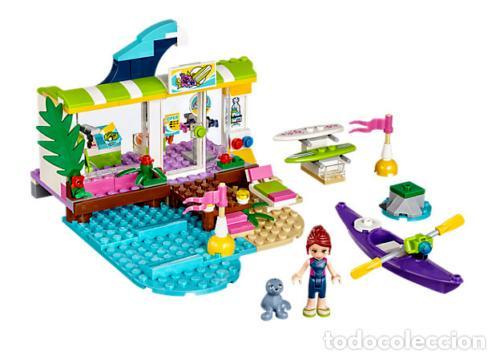 Juegos construcción - Lego: LEGO FRIENDS TIENDA DE SURF DE HEARTLAKE 6-12 AÑOS 41315 - Foto 2 - 144357842