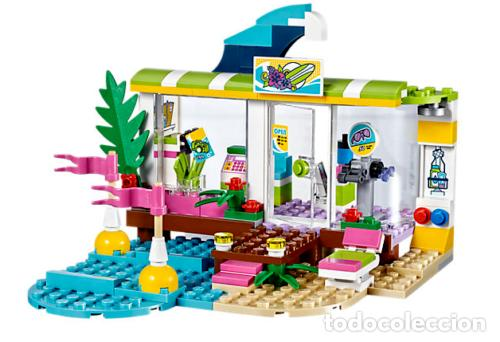 Juegos construcción - Lego: LEGO FRIENDS TIENDA DE SURF DE HEARTLAKE 6-12 AÑOS 41315 - Foto 3 - 144357842