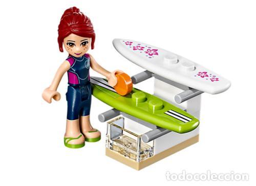 Juegos construcción - Lego: LEGO FRIENDS TIENDA DE SURF DE HEARTLAKE 6-12 AÑOS 41315 - Foto 7 - 144357842