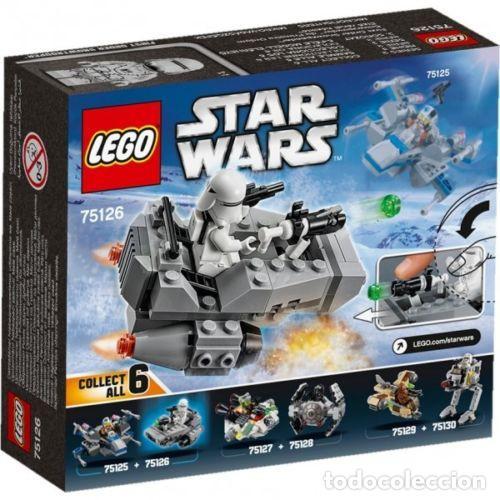 LEGO STAR WARS FIRST ORDER SNOWSPEEDER 6-12 AÑOS 75126 (Juguetes - Construcción - Lego)