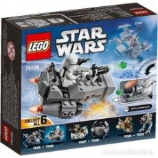 Juegos construcción - Lego: LEGO STAR WARS FIRST ORDER SNOWSPEEDER 6-12 AÑOS 75126. Lote 144359082