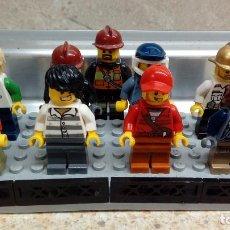 Juegos construcción - Lego: LOTE DE 9 MUÑECOS DE LEGO ( PERFECTOS ). Lote 144724738
