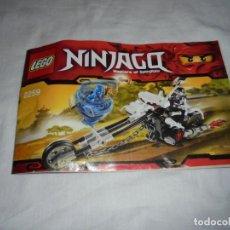 Juegos construcción - Lego: LEGO 2259 INSTRUCCIONES NINJAGO MASTERS OF SPINJITZU. Lote 144757450