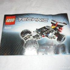 Juegos construcción - Lego: LEGO 8066 INSTRUCCIONES TECHNIC 2 MODELOS . Lote 144757686