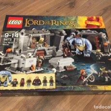 Juegos construcción - Lego: LEGO REF 9473 THE LORD OF THE RINGS. LAS MINAS DE MONE. Lote 144861846