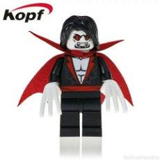 Juegos construcción - Lego: MORBIUS VAMPIRO VIVIENTE MARVEL MINIFIGURA COMPATIBLE PERSONALIZADA. Lote 194968413