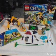 Juegos construcción - Lego: LEGO 70115 CHIMA.SOLO FALTAN DOS PIEZAS. Lote 145183758