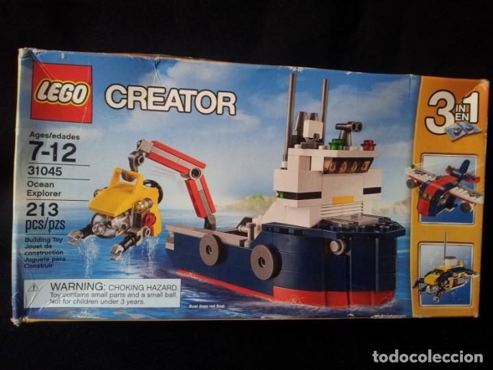 Juegos construcción - Lego: LEGO CREATOR- OCEAN EXPLORER 31045 - SIN ABRIR - Foto 2 - 145605730