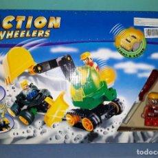 Juegos construcción - Lego: JUEGO DE CONSTRUCCION TIPO LEGO ACTION WHEELERS VER FOTOS Y DESCRIPCION. Lote 146622202