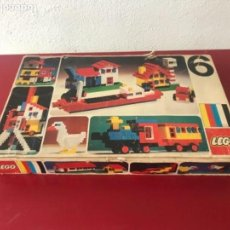 Juegos construcción - Lego: JUEGO DE CONSTRUCCIÓN LEGO NÚMERO 6 CAJA ORIGINAL. VER FOTOS ANEXAS. . Lote 147671494