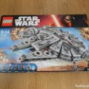 Juegos construcción - Lego: LEGO STAR WARS MILLENNIUM FALCON REF. 75105 NUEVO EN CAJA Y PRECINTADO. Lote 147688754