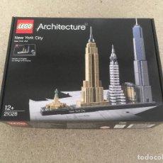 Juegos construcción - Lego: NEW YORK LEGO ARQUITECTURA. Lote 147749362