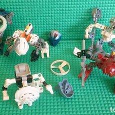 Juegos construcción - Lego: LOTE ROBOTS LEGO BIONICLE. Lote 147895510