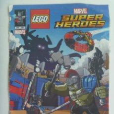 Juegos construcción - Lego: COMIC DE LEGO SUPER HEROES, MARVEL. Lote 149203706