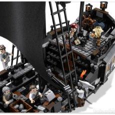 Juegos construcción - Lego: PIRATAS DEL CARIBE BARCO NUEVO LA PERLA NEGRA. Lote 149626234