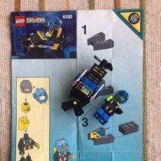 Juegos construcción - Lego: LEGO SYSTEM 6100 MOTO DE AGUA BUCEADOR. Lote 149678684