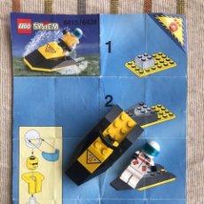 Juegos construcción - Lego: LEGO SYSTEM 6415 / 6428 MOTO DE AGUA CONDUCTOR. Lote 149678925