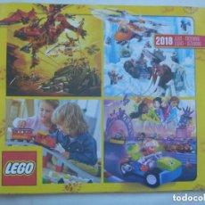 Juegos construcción - Lego: CATALOGO DE LEGO 2018 , JULIO-DICIEMBRE.. Lote 156449816