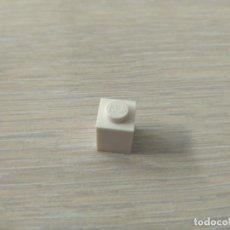 Juegos construcción - Lego: LEGO 3005 PIEZA LADRILLO 1X1 BRICK BLOQUE BLANCO CJ1L . Lote 149954150