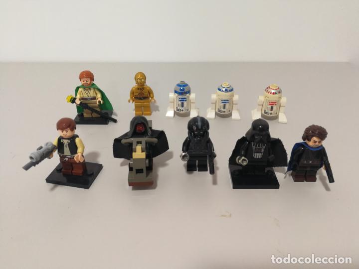 LOTE FIGURAS LEGO DE STAR WARS (Juguetes - Construcción - Lego)