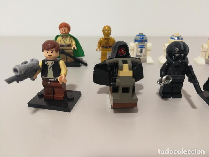 Juegos construcción - Lego: LOTE FIGURAS LEGO DE STAR WARS - Foto 3 - 150771554
