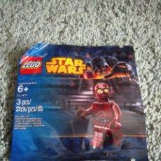 Juegos construcción - Lego: LEGO ORIGINAL MINIFIGURA STAR WARS - DROIDE TC-4. Lote 150818069