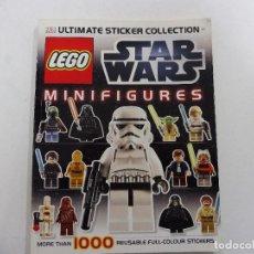 Juegos construcción - Lego: LEGO STAR WARS ULTIMATE STICKER REUTILIZABLES COLLECTION MINIFIGURES 2012 LUCASFILM INGLÉS. Lote 151121658