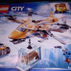 Juegos construcción - Lego: LEGO CITY ÁRTICO TRANSPORTE AÉREO 60193. Lote 151334482