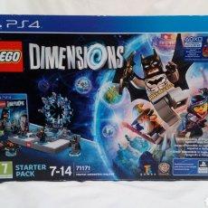 Juegos construcción - Lego: LEGO DIMENSIONS PARA PS4, FALTA JUEGO. Lote 151410305