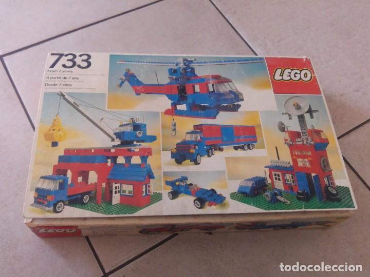 LEGO VINTAGE 733 CON CAJA (Juguetes - Construcción - Lego)
