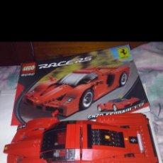 Juegos construcción - Lego: LEGO 2005 RACERS 8652 ~ COCHE ESCALA 1/17 ROJO SUPERDEPORTIVO ENZO FERRARI Ó 2° MONTAJE F333 SP.. Lote 151921985