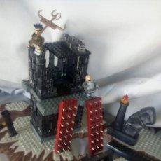 Juegos construcción - Lego: JUEGO PIEZAS MEGABLOCKS + DE 80 PIEZAS DE CASTILLO DE DRAGONES. Lote 58477282