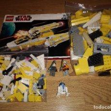 Juegos construcción - Lego: LEGO STAR WARS 8037 (COMPLETO EXCEPTO SOLO 3 PIEZAS IDENTIFICADAS EN EL MANUAL) PERFECTO ESTADO. Lote 152493422