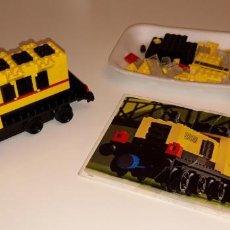 Juegos construcción - Lego: LEGO® 162, MÁQUINA DE TREN/TRAIN MACHINE (1977) 100% COMPLETE.. Lote 152523966