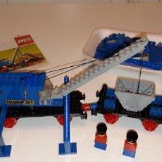 Juegos construcción - Lego: LEGO® 163, VAGÓN GRUA/CRANE WAGON (1977).. Lote 152526518