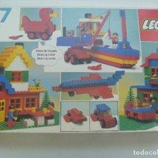 Juegos construcción - Lego: GRAN ESTUCHE DE LEGO 577 . EN SU CAJA ORIGINAL, 1981 ........ ¡ INCOMPLETO !. Lote 152533382