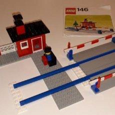 Juegos construcción - Lego: LEGO® 146, PASO A NIVEL/LEVEL CROSSING (1976).. Lote 152537878