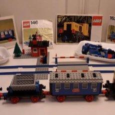 Juegos construcción - Lego: LEGO® VINTAGE 137+146+162+163 (1975-1977). Lote 152555750