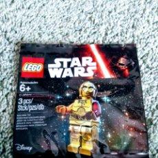 Juegos construcción - Lego: LEGO ORIGINAL MINIFIGURA STAR WARS - DROIDE C3-PO BRAZO ROJO. Lote 152791862