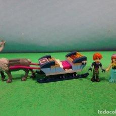 Juegos construcción - Lego: LEGO FRIENDS-TRINEO,RENO + 2 FIGURAS. Lote 152918406