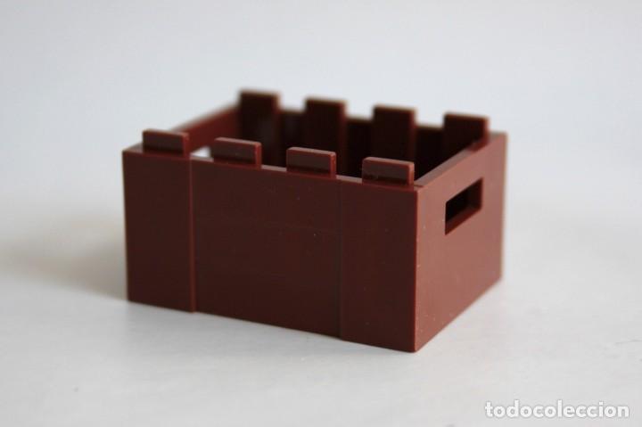 !! Lego 2x marrón rojizo vontainer contenedor Cajón Caja nuevo!!! 30150