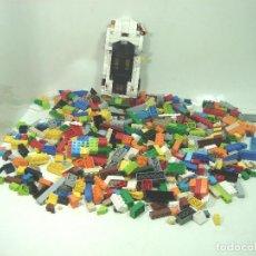 Juegos construcción - Lego: LOTAZO PIEZAS SUELTAS LEGO - 1,136 KGS - PIEZA LOTE - JUEGO CONSTRUCCION-KILO 22 -COCHE RUEDAS. Lote 152953502