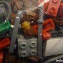 Juegos construcción - Lego: MIL CIEN GRAMOS DE PEQUEÑAS PIEZAS LEGO, ARMAS,ETC.. Lote 153158598