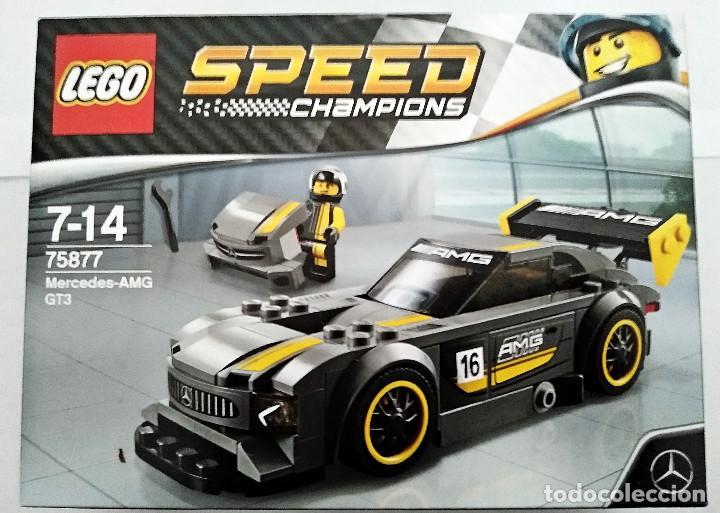 LEGO SPEED CHAMPIONS # MERCEDES - AMG GT3 # 75877 - NUEVO Y PRECINTADO EN SU CAJA ORIGINAL. (Juguetes - Construcción - Lego)