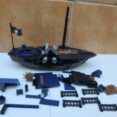 Juegos construcción - Lego: PIEZAS DE BARCO PIRATA LEGO. Lote 153520866