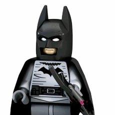Juegos construcción - Lego: FIGURA BATMAN COMPATIBLE CON LEGO. Lote 154523229