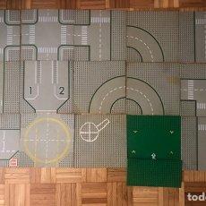 Juegos construcción - Lego: PACK DE 15 PLANCHAS DE LEGO 1970. Lote 154571217
