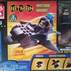 Juegos construcción - Lego: NIGHTWING MININAVE MINIMATES C3 (SERIE BATMAN). NUEVO EN CAJA.. Lote 155269206