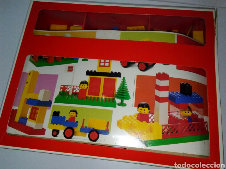 ANTIGUO LEGO BASIC COMPLETO (Juguetes - Construcción - Lego)