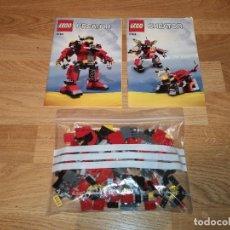 Juegos construcción - Lego: LEGO CREATOR 5761 (3 EN 1) COMPLETO 100%100 + 2 LIBROS DE INSTRUCCIONES (COMPRA MINIMA 15 EUR). Lote 155715078
